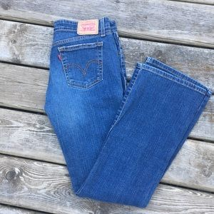 Levi's Super Low Bootcut Jeans size 7